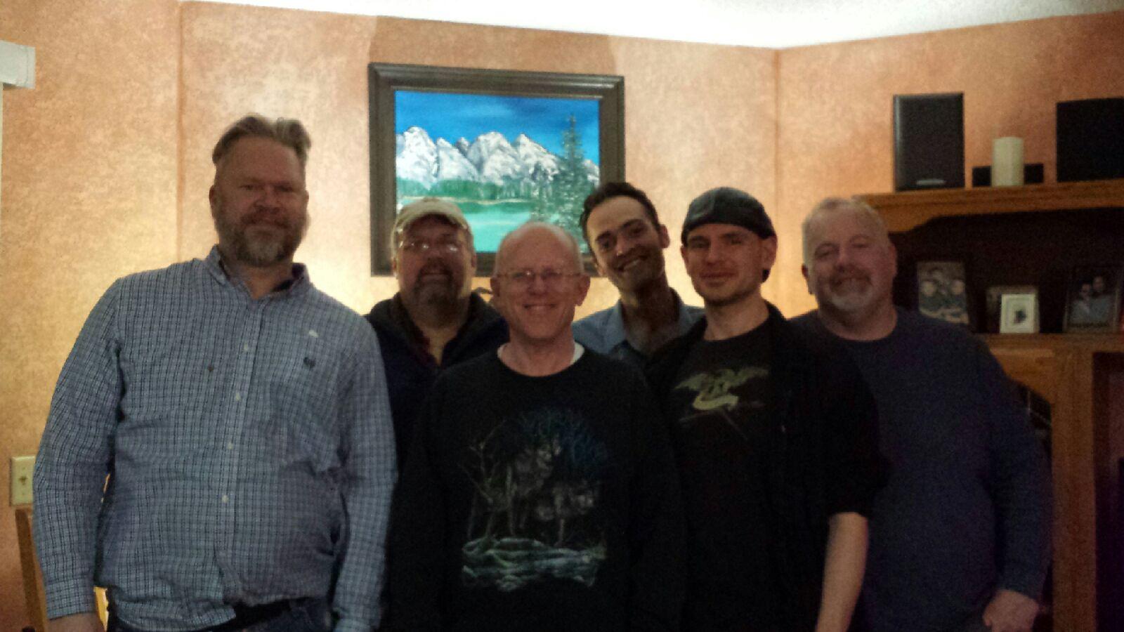 Brian, Paul, Mark, Alex, Peter, & Earle