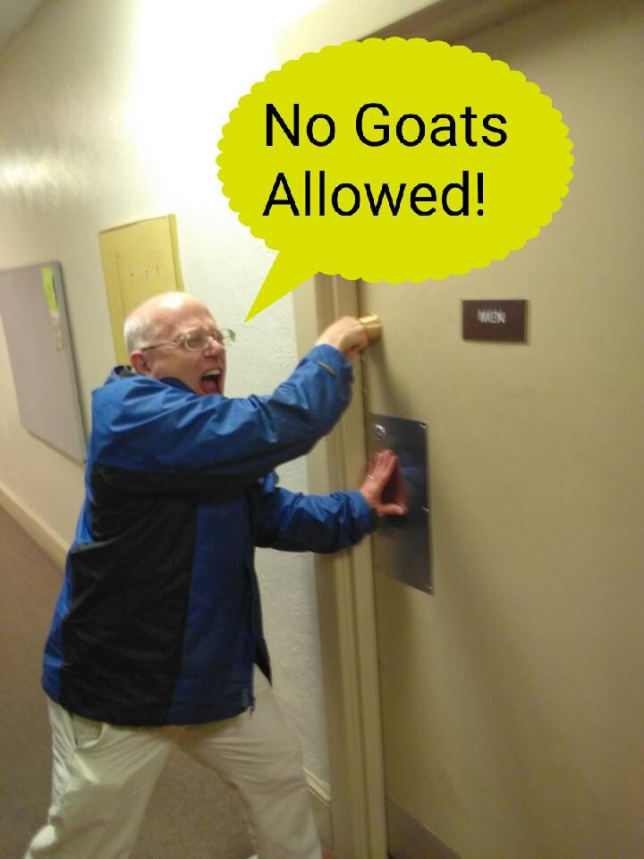No Goats Allowed!